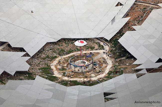 Radio telescopio China 3