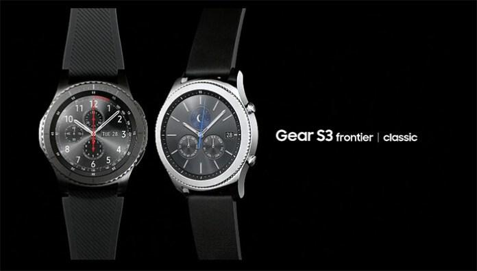 Novos Samsung Gear S3