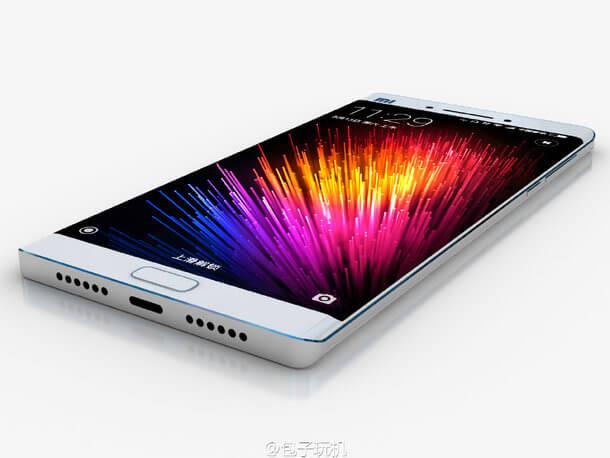 Xiaomi Mi Note 2 concept