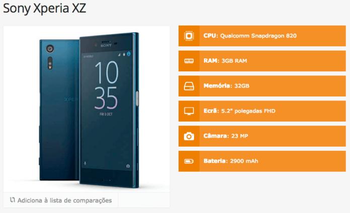 Sony Xperia XZ 1