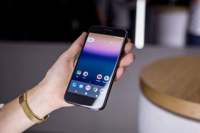 Google pixel com Google Now Launcher