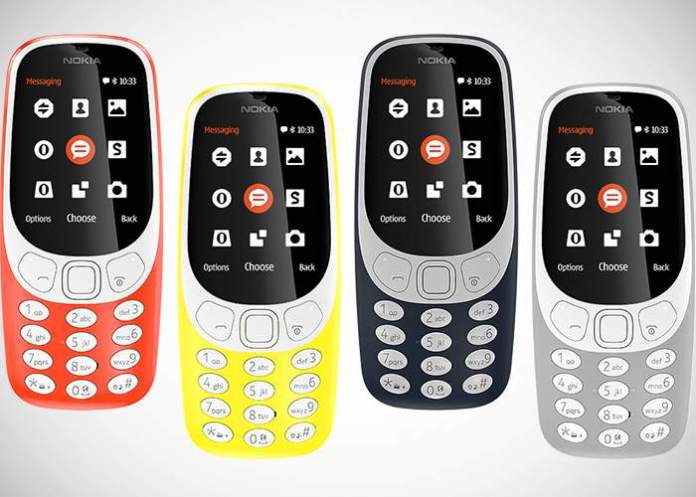 Novos Nokia 3310 2017