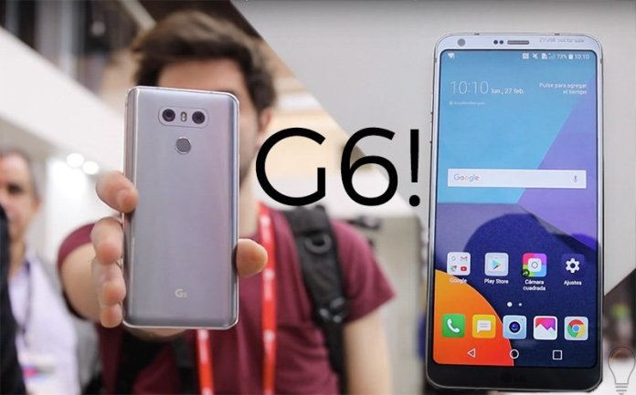 LG G6 na MWC LG Q6