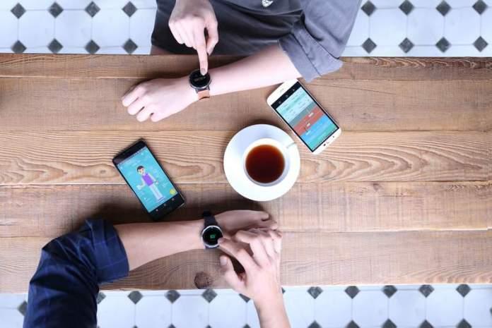 Smartwatch Leap Ware