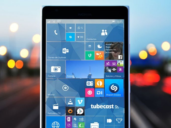 Windows Phone Windows 10 Mobile