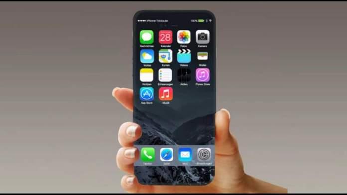 Conceito do iPhone 8