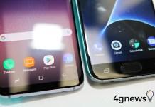 Samsung Galaxy S7 edge Android atualização