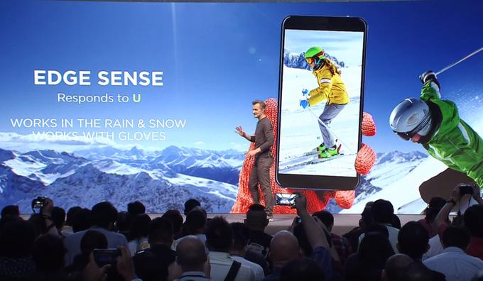 HTC Edge Sense - HTC U 11