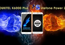 OUKITEL K6000 Plus Ulefone Power 2