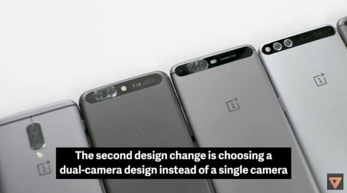 Protótipos do OnePlus 5 | Crédito: The Verge