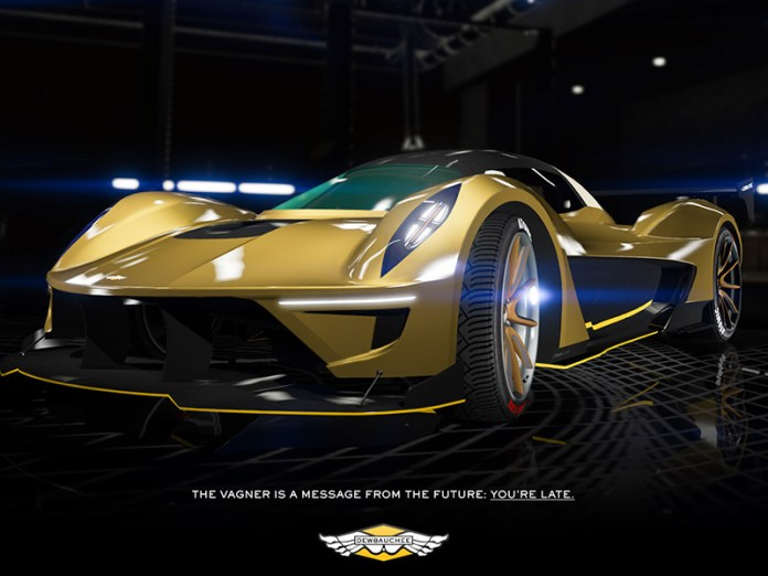 O novo carro do GTA Online chamado Dewbauchee Vagner