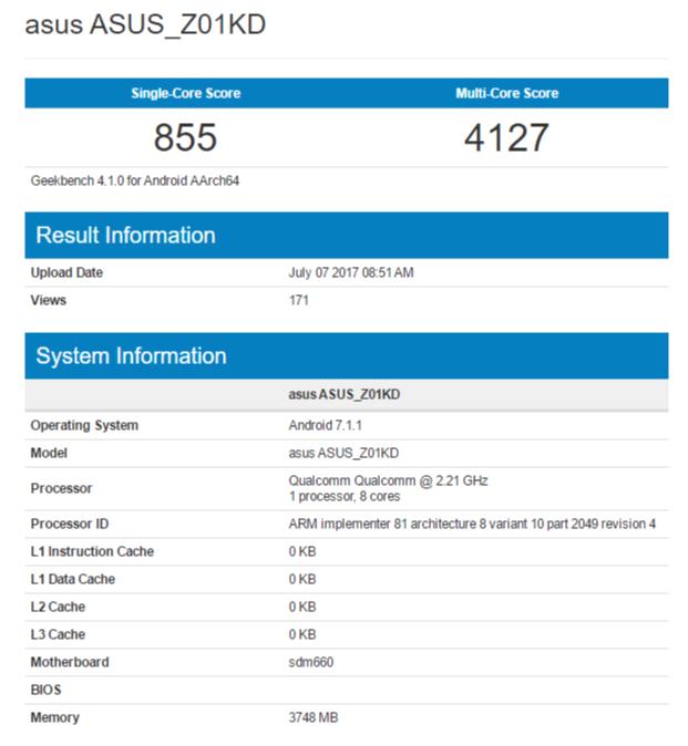 ASUS Zenfone 4 Qualcomm Snapdragon