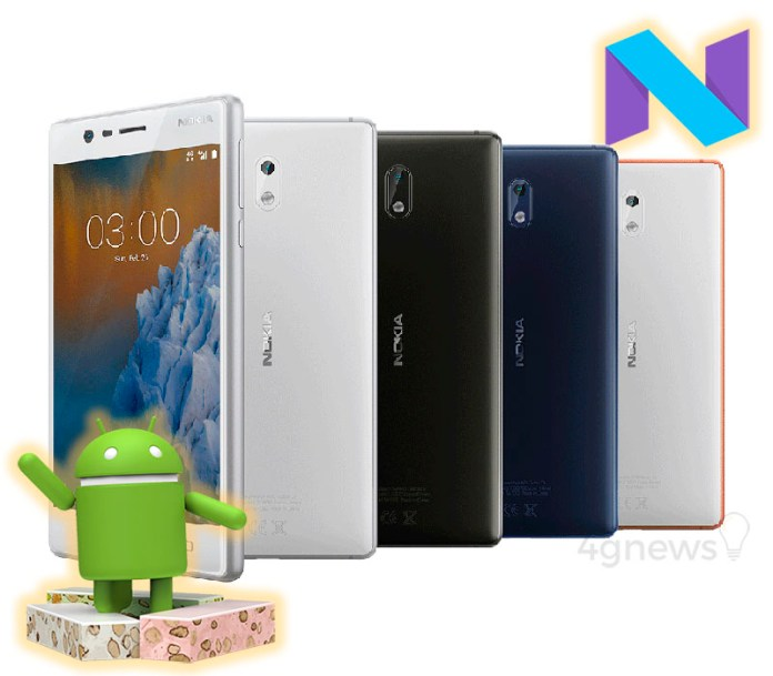 Nokia 3 Android Nougat Smartphone 4gnews.