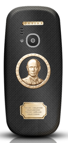 Nokia 3310 Caviar Putin telemóvel