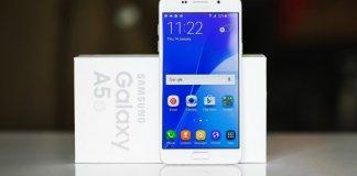 Samsung Galaxy A5 (2016) Android Nougat update atualização