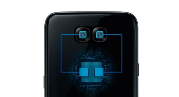 Imagem dos dois sensores fotográficos no website da Exynos