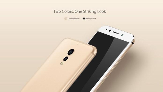 Novo UMIDIGI S chega em dourado e preto smartphone