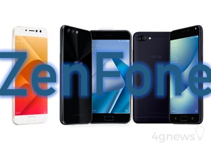 ASUS ZenFone 4 ASUS ZenFone 4 Max ASUS ZenFone 4 Selfie Pro