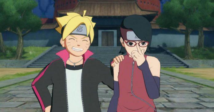Boruto; Naruto Next Generations Sarada Anime