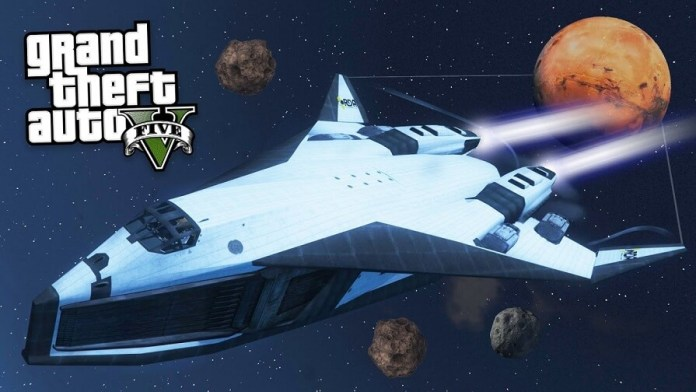 GTA V modo space