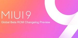 Xiaomi MIUI 9 Global Beta