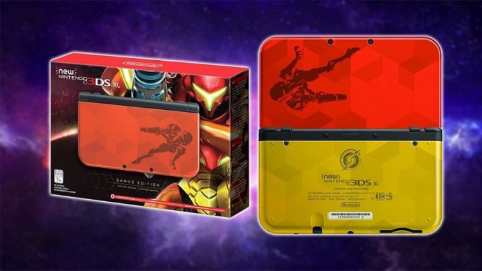 Nintendo 3DS XL Samus Edition à venda nos US