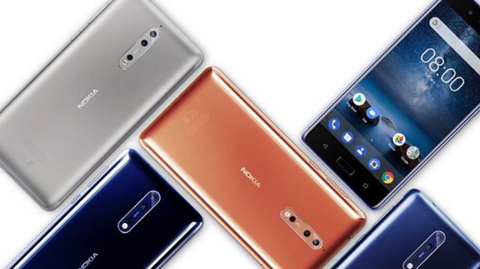 Nokia 6, Nokia 3, Nokia 5 HMD Smartphone Android Nokia 9 smartphones