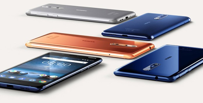 Smartphone Android Nokia 8