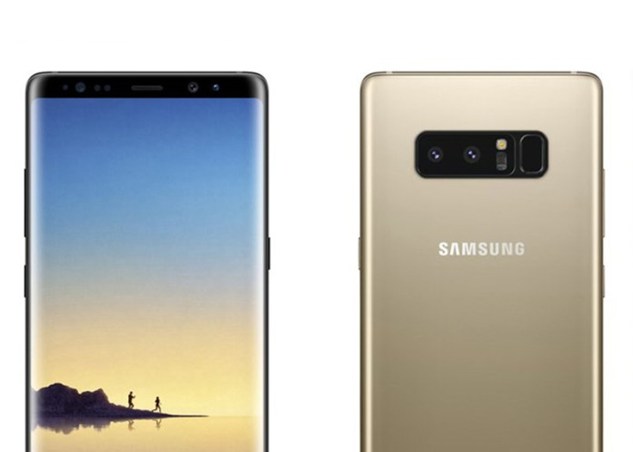 Samsung Galaxy Note 8 fotos reais