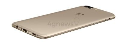 OnePlus 5 Dourado Edição Especial 4gnews