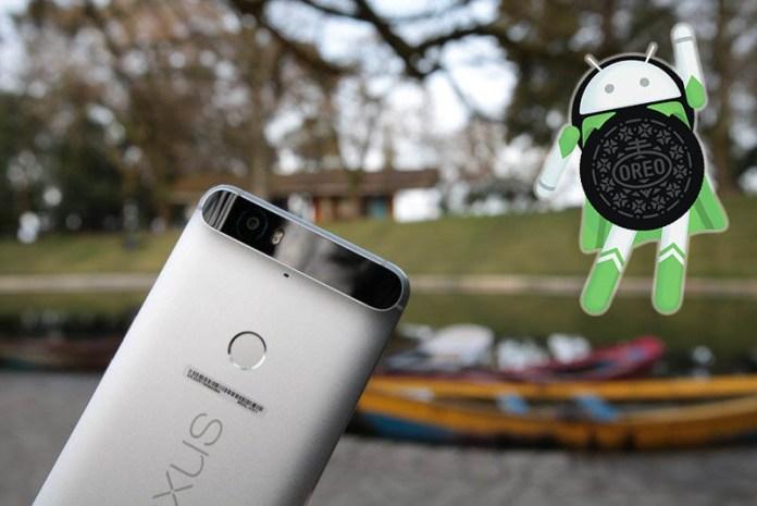 Huawei Nexus 6P Android Oreo