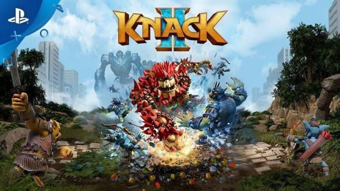 Knack 2 a partir de hoje disponível para PS4