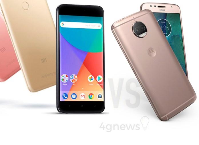 Motorola Moto G5S Plus Xiaomi Mi A1 4gnews