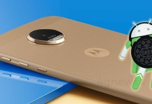 Motorola Moto Z Android Oreo LineageOS 15