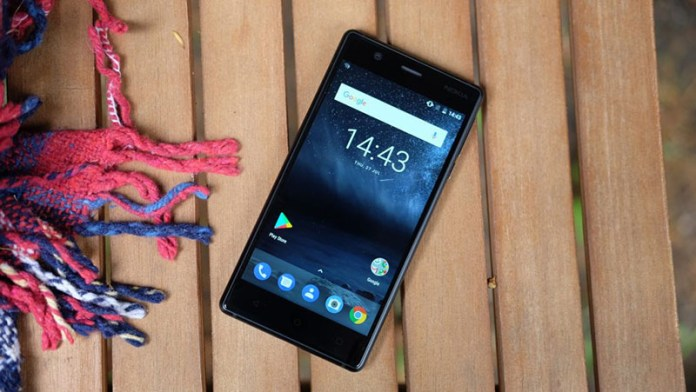 Nokia 3 smartphone Android Nougat