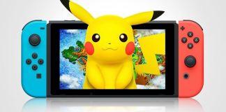 por onde passa o pokémon na Nintendo Switch