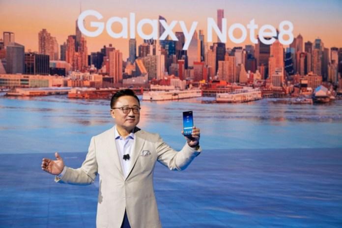 Samsung Galaxy Note8 Smartphones