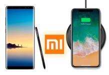 Xiaomi Mi 7 iPhone X Galaxy Note8