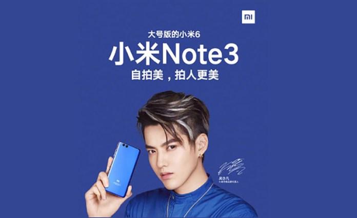 Xiaomi Chiron aparece no GFXBench - Será o Xiaomi Mi Note 3 Pro ?