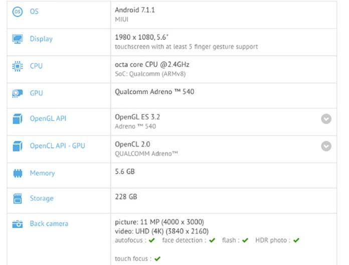 Xiaomi chiron Xiaomi Mi Note 3 Pro