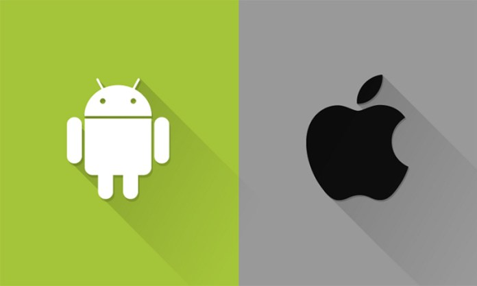 Apple iOS Android Smartphones