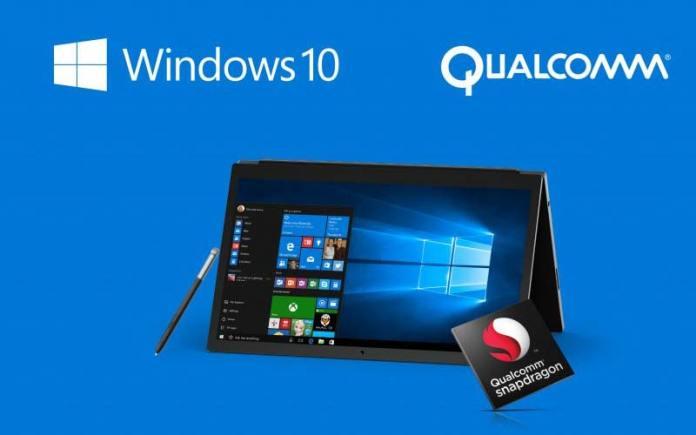 Microsoft Windows 10 Qualcomm