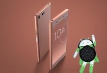 Android Oreo Sony Xperia XZ Premium