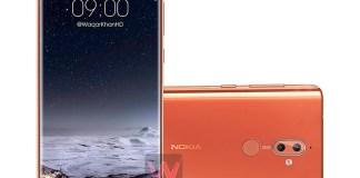 Nokia 9 Nokia 8 (2018) janeiro smartphone preço Android, janeiro