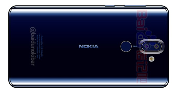 Nokia 9 Smartphone Android imagens