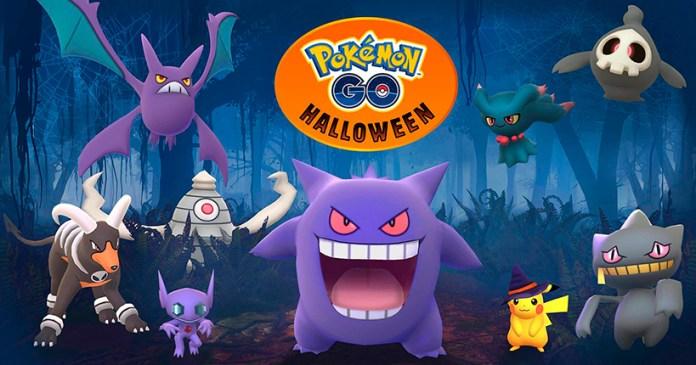 Pokémon GO Evento de Halloween Niantic Gen 3