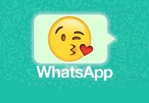 WhatsApp emojis nova versão 3