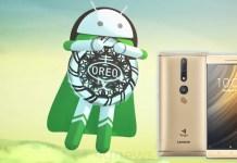 Lenovo Android Oreo smartphone