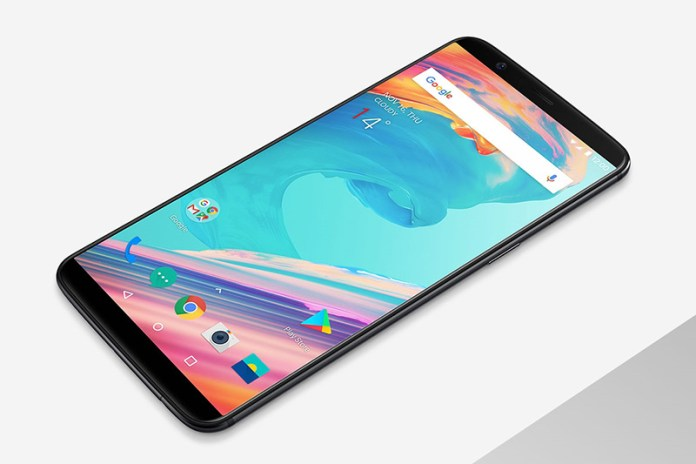 Android puro Google OxygenOS vídeo smartphone resistência à água OnePlus 5T smartphone Android OxygenOS