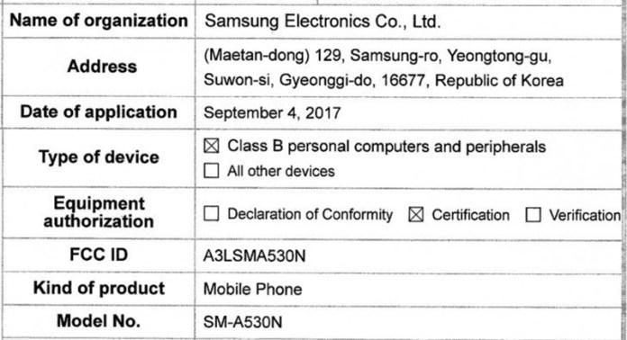 Infinity Display Samsung Galaxy A5 2018